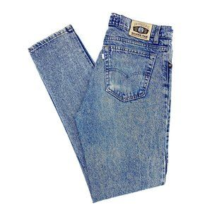 High Waisted Vintage Silver Tab Skinny Levi Jeans